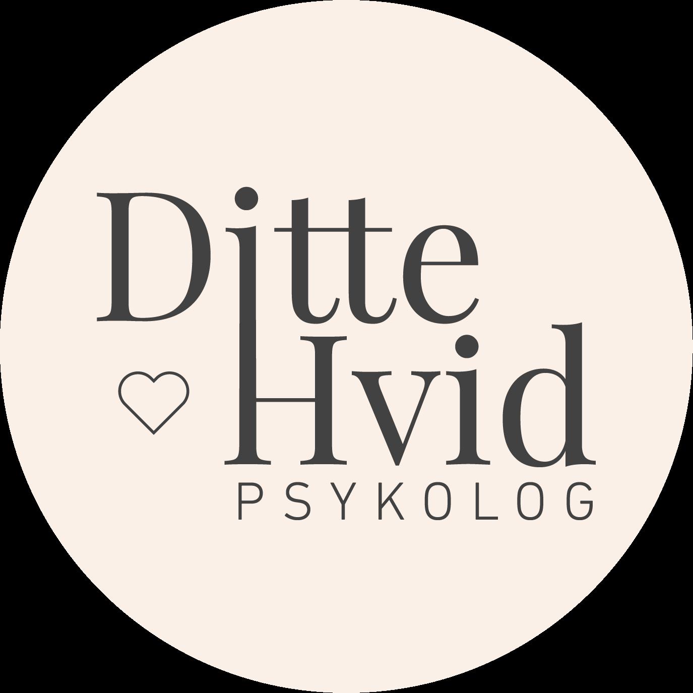 Ditte Hvid Psykolog